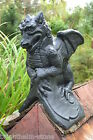BLACK St. Georges DRAGON ROOF FINIAL Half Round or Angled Ridge frostproof stone