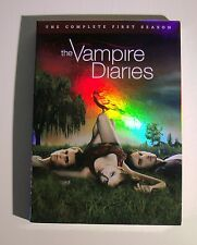 The CW The Vampire Diaries The Complete First Season (DVD, 2010, 5-Disc Set)