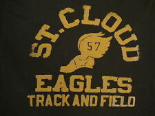 NCAA St. Cloud Eagles College University Track and Field Lucky Brand T Shirt L