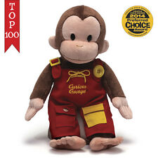 "Curious George Teach Me Dressing Skills 16"" Inch Plush # 4042871 Gund NWT"