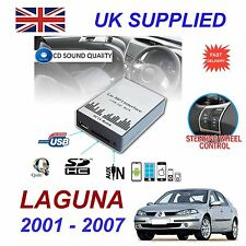 Renault LAGUNA MP3 SD USB CD AUX Input Audio Adapter Digital CD Changer Module
