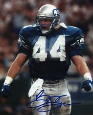 1- BRIAN BOSWORTH SEATTLE SEAHAWKS 8X10 REPRINT AUTO PHOTO