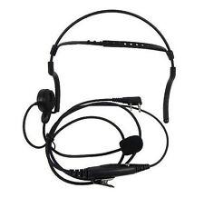 2 PIN Headphone Headset for Kenwood Puxing WEIERWEI Wouxun Baofeng with boom mic