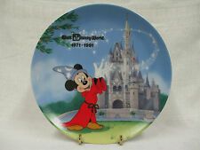 Walt Disney World Salute to the Parks Collector Plate 1971-1991 Mickey Mouse