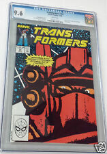 TRANSFORMERS Vol. 1 #58 1989 Megatron Starscream Jazz Grimlock CGC 9.6 WP