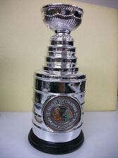 CHICAGO BLACKHAWKS STANLEY CUP REPLICA TROPHY  2010  REPLICA