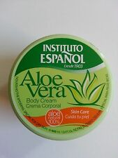 Body Cream with Aloe Vera. Instituto Espanol  400 ml Made in Spain.