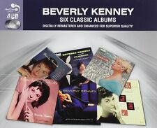 Beverly Kenney SIX (6) CLASSIC ALBUMS Swing With Me BORN TO BE BLUE New 4 CD
