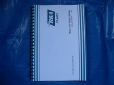 BSA B44VS 441 VICTOR SPECIAL PARTS BOOK FOR 1967