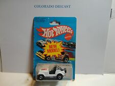 1981 Hot Wheels White Jeep CJ-7  #3259
