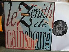 Serge Gainsbourg Le Zénith De zenith NM RE LP '89 mercury719407 vinyl france !!