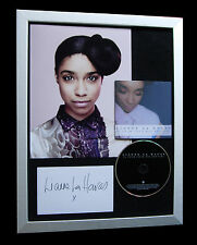 LIANNE LA HAVAS+SIGNED+FRAMED+LOST FOUND+LOVE=100% AUTHENTIC+EXPRESS GLOBAL SHIP