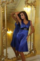 New Ladies Womens Satin Cocktail Bridesmaid Party Evening Prom Dress 8 -18