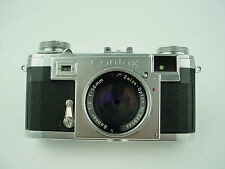 Zeiss Contax IIa First Model Rangefinder camera w/Sonar 50mm F/2 T Zeiss-Opton