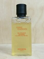 TERRE D'HERMES MEN ALL OVER SHOWER GEL 1.35 OZ/ 40 ML NEW NO BOX AS PICTURED