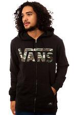 Vans Classic Zip Camo Print Men's Hoodie Jacket Size S