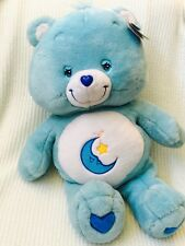"NWT Care Bears Large 2002 Jumbo 26"" Stuffed Plush BEDTIME BEAR Play Along Toys"