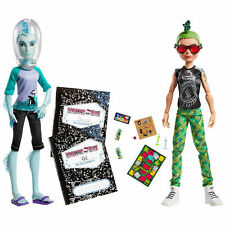 NIB Monster High Mansters Two Pack Deuce Gorgon and Gill Webber Boys Dolls