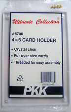 5 Brand New Postcard Holder Over Size Card Screw Down Holders NIB Never Used