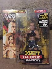 Round 5 UFC World of MMA Champions  MATT SERRA  Series 4 Brand NEW! L@@K