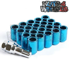 Blue Tuner Wheel Nuts x 20 12x1.25 Fits Nissan PS13 RPS13 S14a Onevia