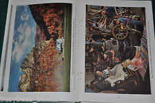 1940 WEST VIRGINIA magazine article, people history industry etc color photos