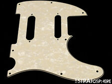 *NEW Aged Pearloid Nashville Telecaster PICKGUARD for Fender USA Tele 3Ply 8Hole