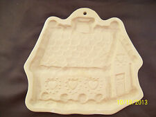 Brown Bag Cookie Art Mold, Gingerbread House, Christmas