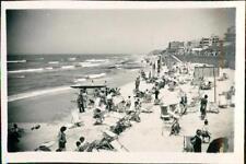 Beach at Tel Aviv, Palestine. 1943.   QR646