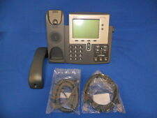 Cisco CP-7942G IP Phone - SIP - SCCP - Grade A/B - Tested - Warranty -with Power