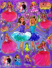 BARBIE GO DANCING SCRAPBOOK STICKERS OR ROOM DECOR IN HQ (BUY 5 MIX FREE 1)