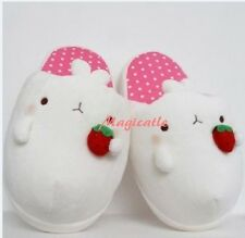 Molang Slipper Cute Rabbit Plush Pink Color Slipper-US 5~7