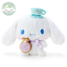 Cinnamoroll Plush Doll 15th Anniversary Tea Time Staffed Toy Sanrio Japan F/S