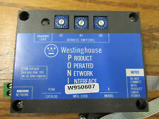 Westinghouse 5275C54G01 Product Operated Network Interface PONI W950607 REV 10A