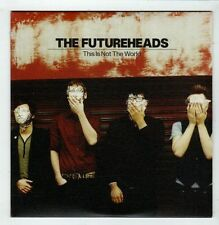 (HB752) The Futureheads, This Is Not The World - 2008 DJ CD