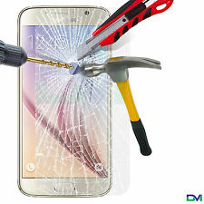 100% GENUINE TEMPERED GLASS SCREEN PROTECTOR FOR SAMSUNG GALAXY S7 SMART PHONE
