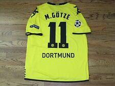 Gotze Borussia Dortmund Shirt Jersey Trikot Match Un Worn Player Issue CL