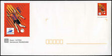 France 1998 World Cup Football Lens Postage Paid Cover Unused #C32749