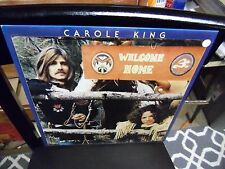Carole King Welcome Home vinyl LP 1978 Capitol Records EX + poster