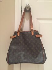 Authentic Louis Vuitton Batignolles Shoulder Purse Handbag