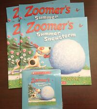 Zoomer's Summer Snowstorm by N. Young Scholastic Listening Center 4 Books w/CD