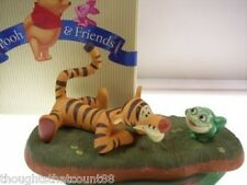 Pooh & Friends TIGGER Figurine YOU BET YOUR BOUNCE NIB * FREE USA SHIPPING