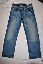 Diesel Industries Qurat Straight Fit Jeans Mens 31x30 100% Cotton Made In Italy