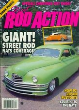 1989 Street Rod Action Magazine: Nats Coverage/How-to Repair Rust-Outs