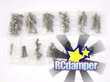GPM TITANIUM SCREW SETS 98PC TRAXXAS 1/16 MINI E REVO SUMMIT VXL SLASH 4x4 RALLY
