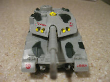 "USA ARMY TANK DIE CAST 5"" PULLBACK ACTION WITH LIGHTS AND SOUNDS GRAY"