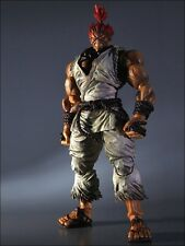 Super Street Fighter IV Play Arts Kai Vol. 2 Action Figure Gouki Akuma White