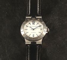 BVULGARI DIAGONO S/S AUTOMATIC UNISEX WRISTWATCH WITH DATE SCREW DOWN CROWN SEE