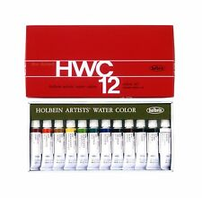 Holbein Artists' Watercolor 5ml 12 Color Set W401 Japan Import