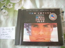 a941981 Born on the Fourth of July Movie Soundtrack CD Made in Germany